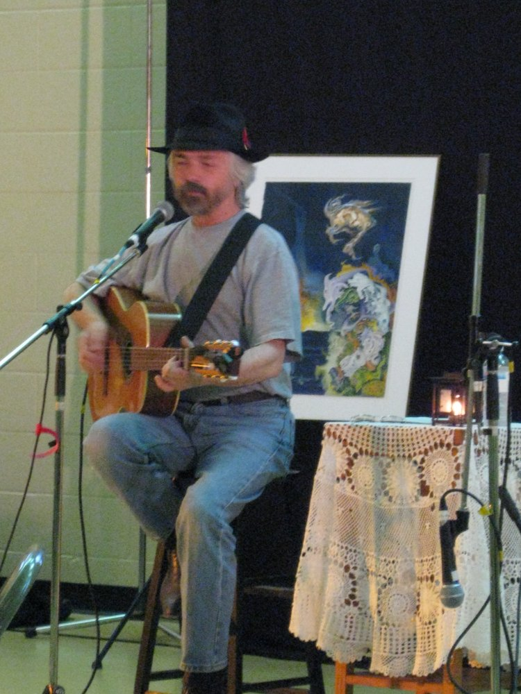Terry Golletz at The Black Walnut Folk Club, Kitchener, Ontario