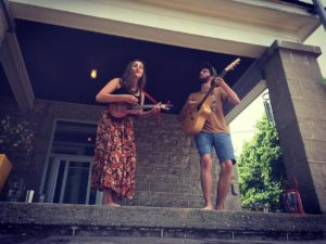 Sam & Anita at Junction Porchfest